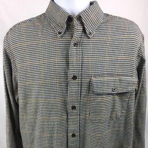Orvis Men's Size L Shirt L/S Button Down Checkered